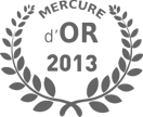 logo Mercure d'Or 2013